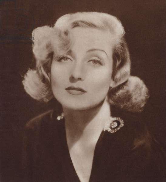 Carole Lombard (litho)