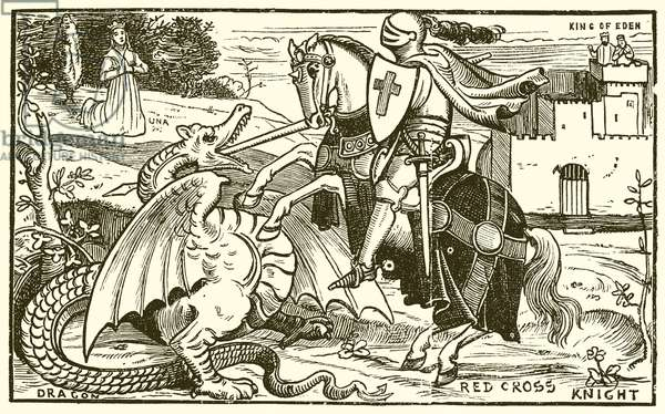 The Red Cross Knight (engraving)