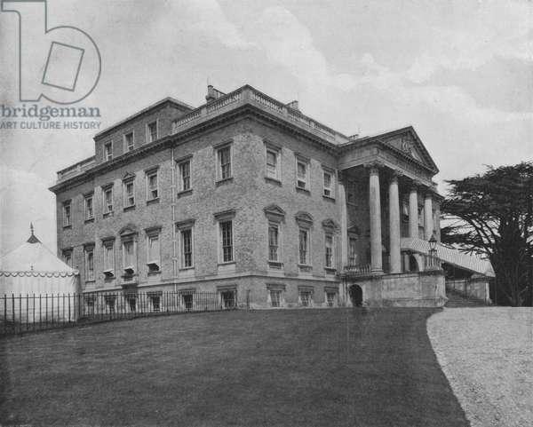 Claremont House (b/w photo)