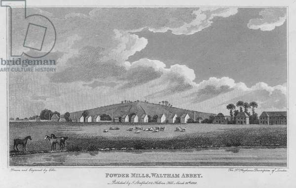 Powder Mills, Waltham Abbey (engraving)