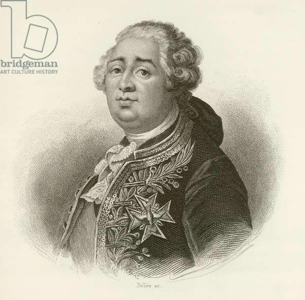 King Louis XVI of France (engraving)