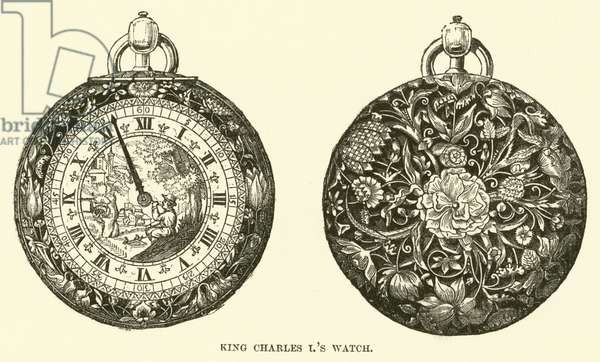 King Charles I's Watch (engraving)