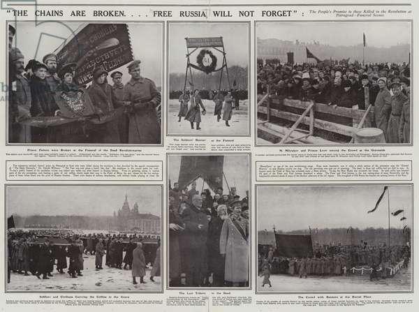 Russian Revolution, 1917 (litho)