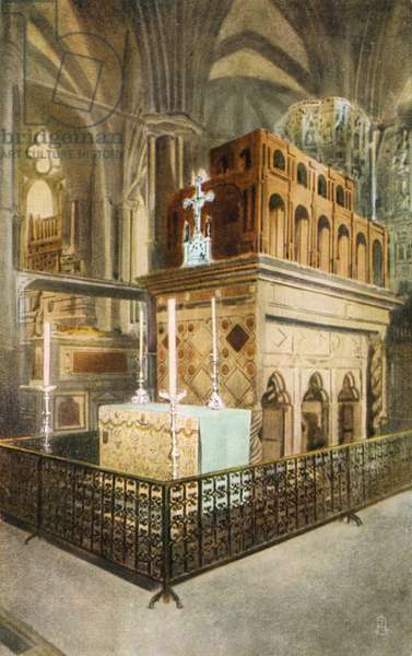 Shrine of Edward the Confessor, Westminster Abbey, London (photo)