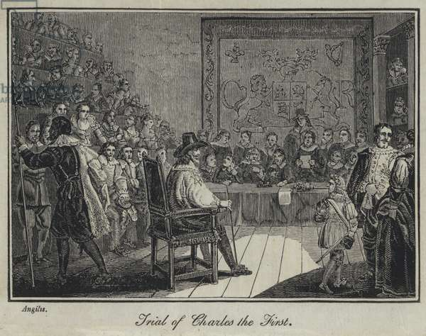 Trial of Charles the First (engraving)