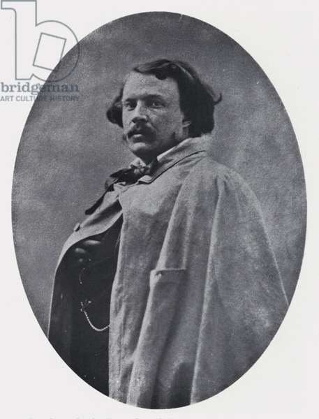 Gaspard Felix Tournachon (Nadar), taken by himself (b/w photo)