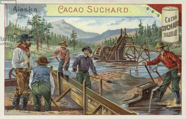 Gold prospectors, Alaska (chromolitho)