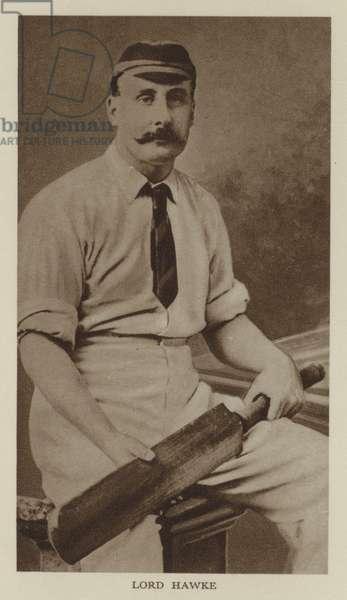 Lord Hawke (b/w photo)