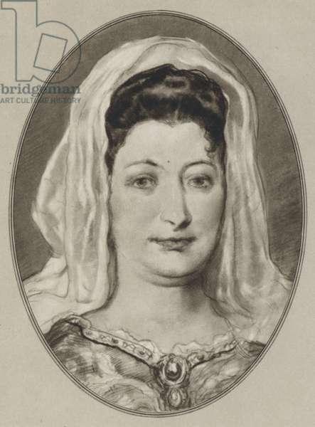 Madame de Maintenon (litho)