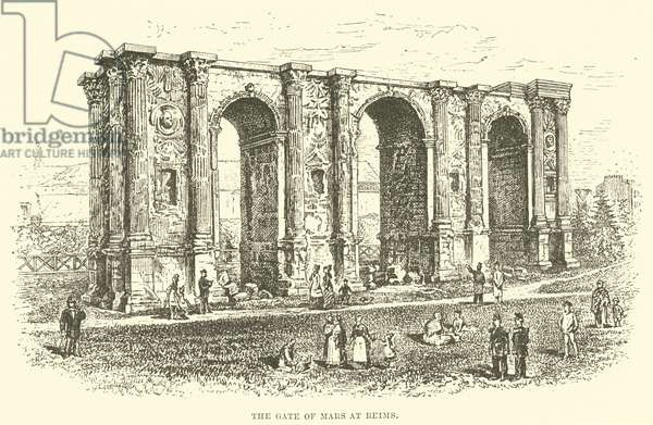The Gate of Mars at Reims (engraving)