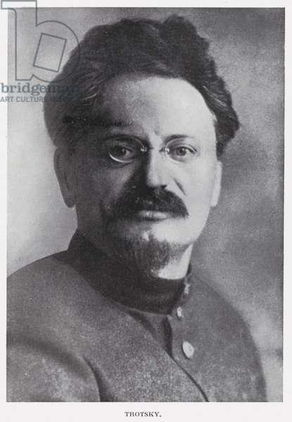 Trotsky (b/w photo)