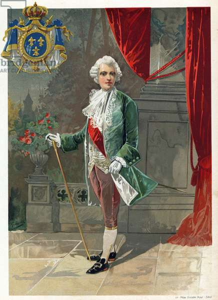 King Louis XV of France