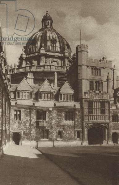 Brasenose College (b/w photo)