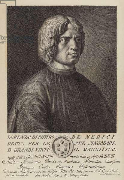 Lorenzo De Medici (engraving)