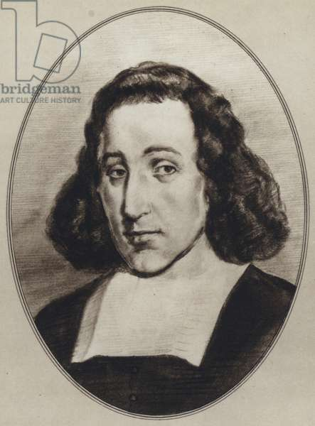 Portraits of Great Philosophers: Spinoza (litho)