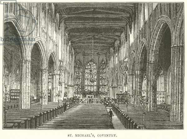 St. Michael's, Coventry (engraving)