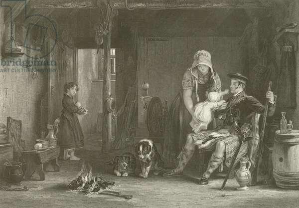 The Highlander's Return (engraving)