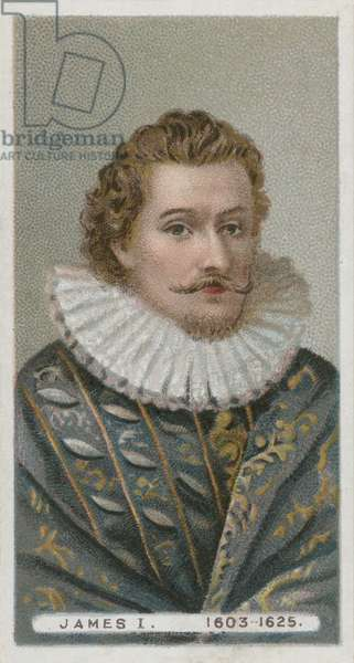 King James I (chromolitho)