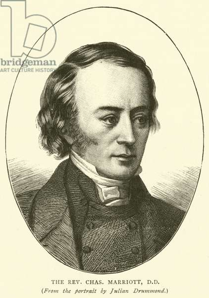 The Reverend Charles Marriott, DD (engraving)