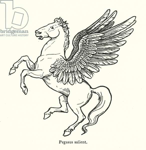Pegasus salient (engraving)