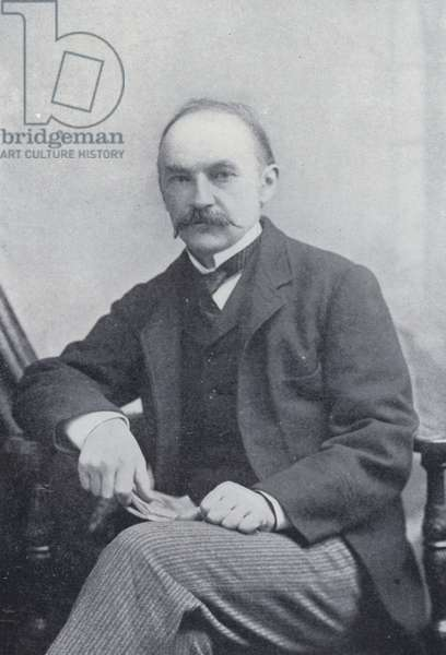 Thomas Hardy (b/w photo)