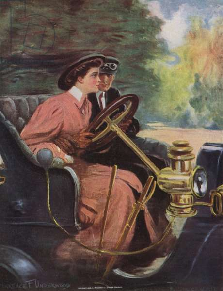 Learning to Drive (colour litho)