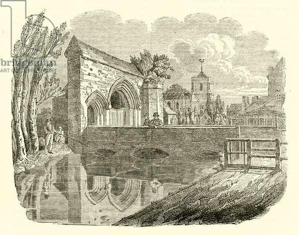 Waltham Abbey Essex (engraving)