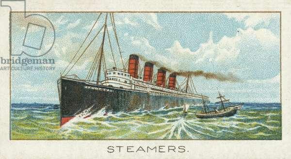 Steamers (chromolitho)