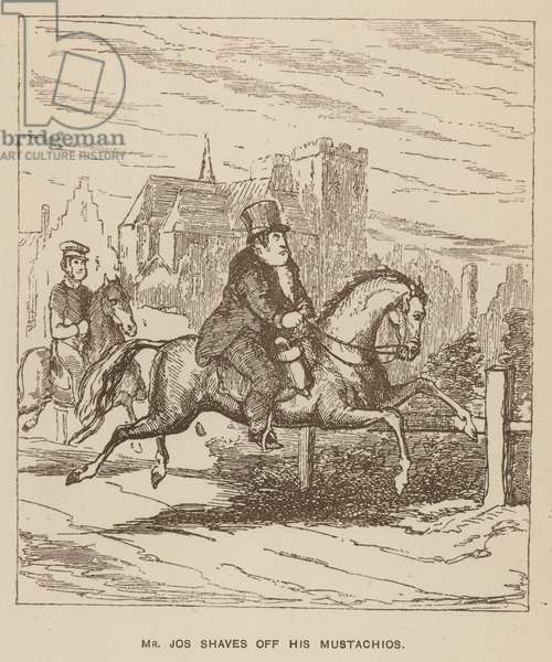 Illustration for Vanity Fair by Thackeray (litho)