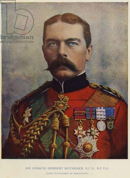 Lord Kitchener of Khartoum (colour litho)