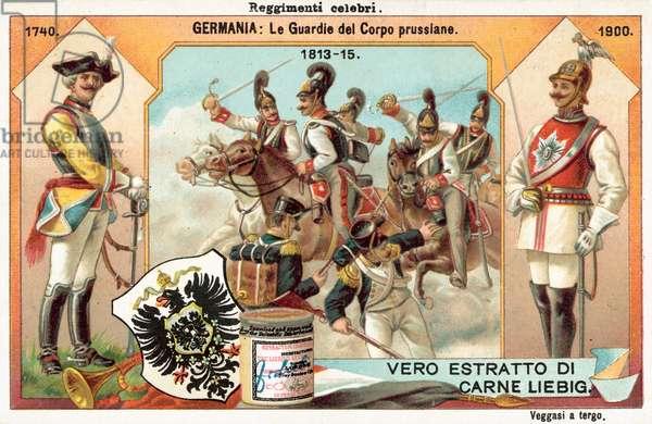 Prussian Gardes du Corps (chromolitho)
