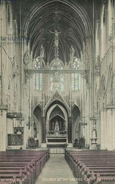 Church of the Sacred Heart, Wimbledon (colour photo)