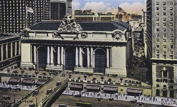 New York: Grand Central Terminal (colour photo)