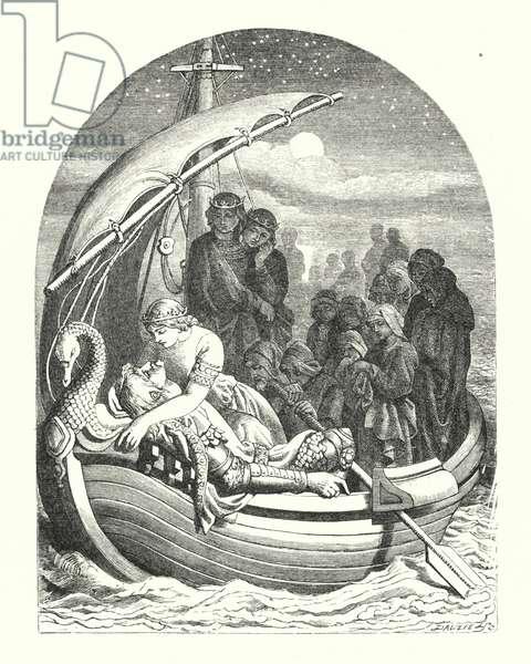 Morte d'Arthur (engraving)