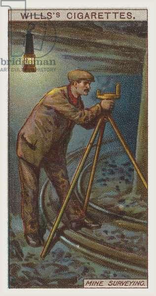 Mine surveying (chromolitho)
