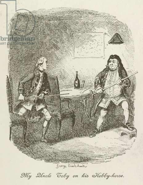Illustration for Tristram Shandy (engraving)