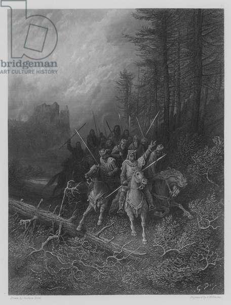 The Knights' Progress (engraving)