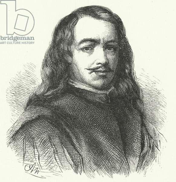 Bartolome Esteban Murillo, Spanish Baroque artist (engraving)
