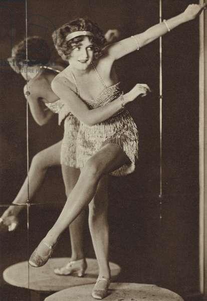 Dancing the Charleston, 1926 (b/w photo)