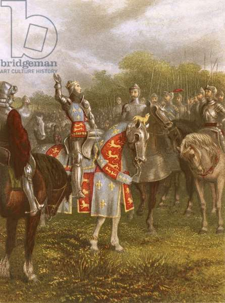 King Henry V at Agincourt