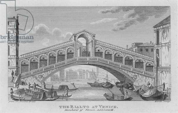 The Rialto at Venice (engraving)