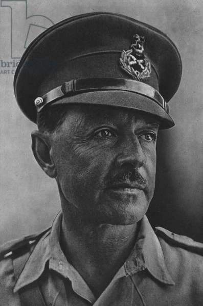 Field-Marshal the Hon Sir Harold R L G Alexander, GCB, CSI, DSO, MC, ADC, Supreme Allied Commander Mediterranean Theatre (b/w photo)