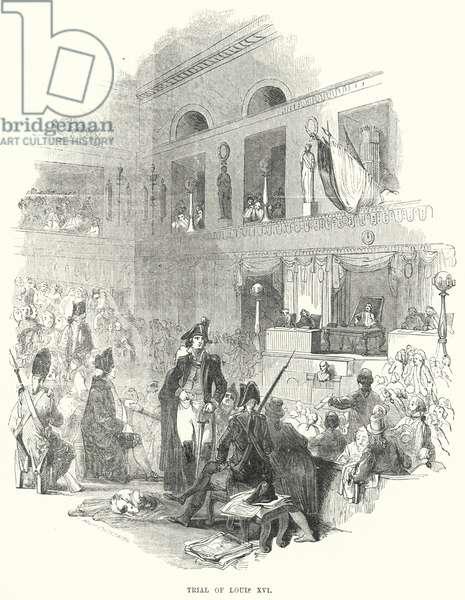 Trial of Louis XVI (engraving)