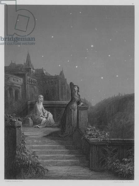 Terrace Scene (engraving)