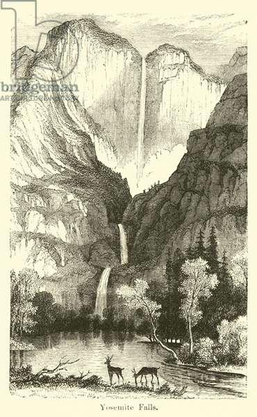 Yosemite Falls (engraving)