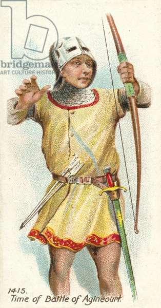 1415, Time of Battle of Agincourt (chromolitho)