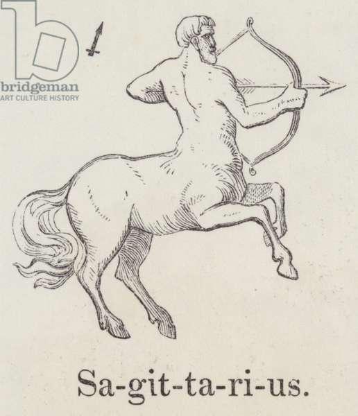 Sagittarius (engraving)