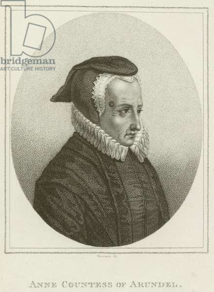 Anne, Countess of Arundel (engraving)