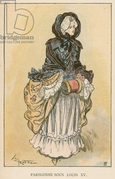 Parisienne Sous Louis XV