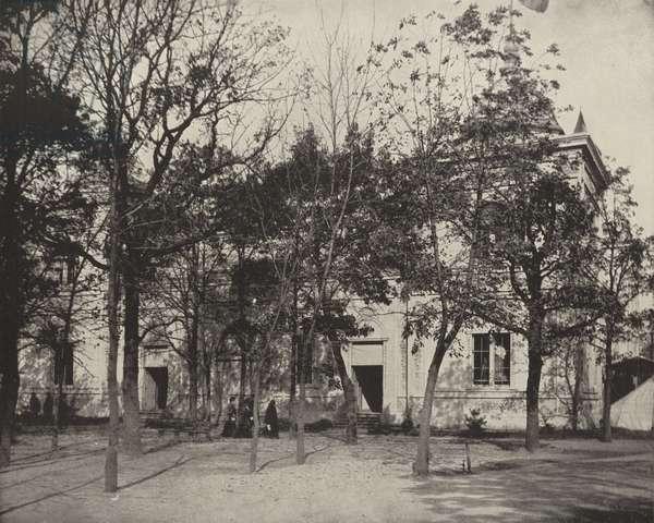 Guatemala's Building (b/w photo)